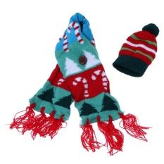 Bảng Báo Giá Giáng sinh Giữ Chai Chai Giáng sinh Đan và Khăn trang trí Mũ (Nhiều màu) -Cây Giáng sinh  crystalawaking