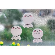 Combo 2 tập giấy ghi chú hình búp bê cầu mưa 6009