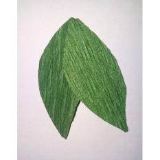 Giấy nhún – màu xanh lá đậm màu số 9 như hình