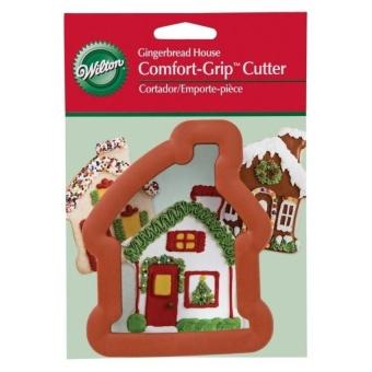 Gingerbread House Comfort Grip Cutter - intl