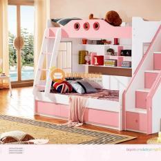 Giường 2 tầng trẻ em LSL0703_Hồng