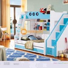 Giường 2 tầng trẻ em LSL0703_Xanh