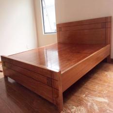 giường ngủ đinh hương dạt phản 1.8m