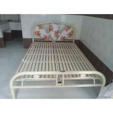 Giường sắt 1mx2m