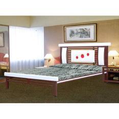 Giường sắt hộp cao cấp 1m4 x2m