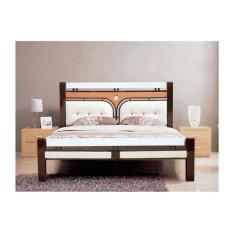 Giường sắt kiểu gỗ 60×200 – DT22