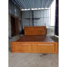 Giường sắt kiểu gỗ xuất khẩu