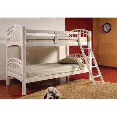 Giường 2 Tầng Gỗ Tự Nhiên 030 (White)
