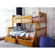 Giường 2 Tầng K.Bed 128 (Vàng Gỗ Tự Nhiên)