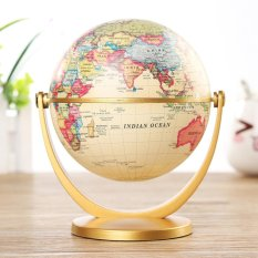 Chỗ nào bán Globe World Desktop Rotating Earth Map Ocean Geography Kid Learn Geography Decor – intl