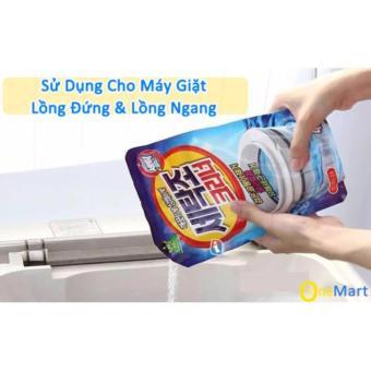 Gói bột tẩy vệ sinh lồng máy giặt 450g RCB01