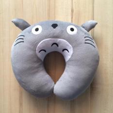 Địa Chỉ Bán Gối quàng cổ chữ U nhồi bông 3 chiều hình Totoro
