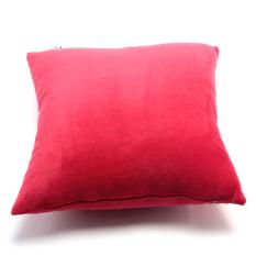 Gối trang trí Soft Decor 40 Red Velvet 40x40x15cm (Đỏ)