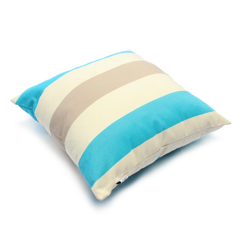 Gối trang trí sofa Soft Decor 40SX 40x40x15cm (Xanh biển)