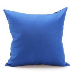Gối trang trí sofa Soft Decor 40T38-45 40x40x15cm (Xanh dương)