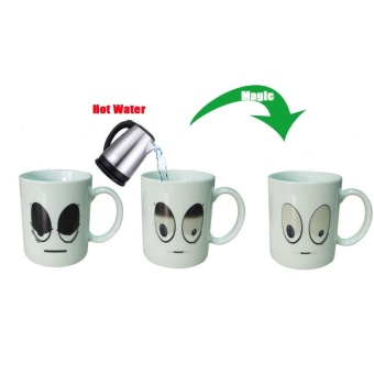 Great White Eyes color cup gifts temperature change cup capacity 201-300ml - intl