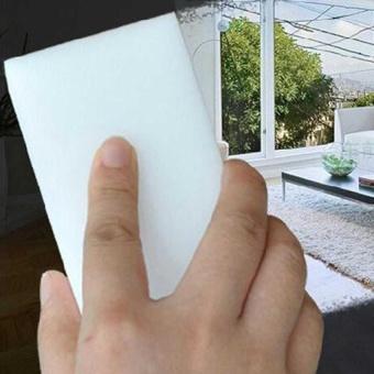 HappyLife 20X Melamine Foam Magic Sponge Eraser Homecleaning Cleaner Pad - intl .