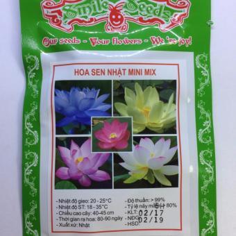 Hạt giống hoa sen Nhật mini mix 332HGRE68
