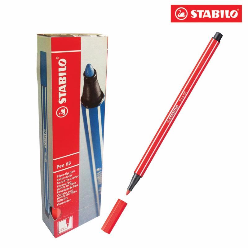 Mua Hộp 10 cây bút lông màu STABILO Pen 68 (vàng)