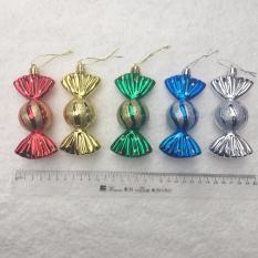 Hộp 5 kẹo sắc màu treo cây thông noel trang trí giáng sinh