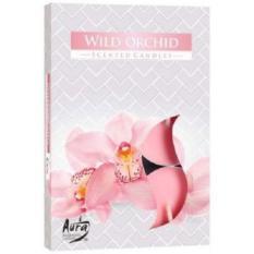 Hộp 6 nến thơm Tealight Bispol Wild Orchid BIS1700 (Hương hoa địa lan)