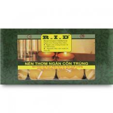 Hộp 8 nến tealight thơm hương sả chanh Quang Minh Candle FtraMart FTM-RID1502 (Vàng)