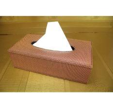 Hộp da đựng giấy ăn 25x13x5 Gia số 1-07