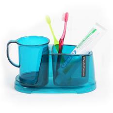 Hộp đựng bàn chải đánh răng và cốc nhà tắm Changsin – CS02811