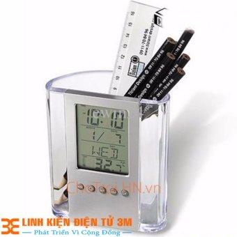 Hộp Đựng Bút Điện Tử BLX436 ( hộp đựng bút thông minh có báo giờ vànhiệt độ)