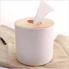 Hộp đựng giấy ăn giả gỗ 333AAE