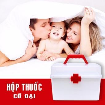 Hộp đựng thuốc chuyên dụng gia đình (Trắng) - 4