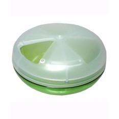 Hộp đựng thuốc AN TOÀN SỐ 1 NHẬT BẢN (loại tròn – màu xanh)