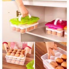 Hộp đựng trứng thông minh 2 tầng