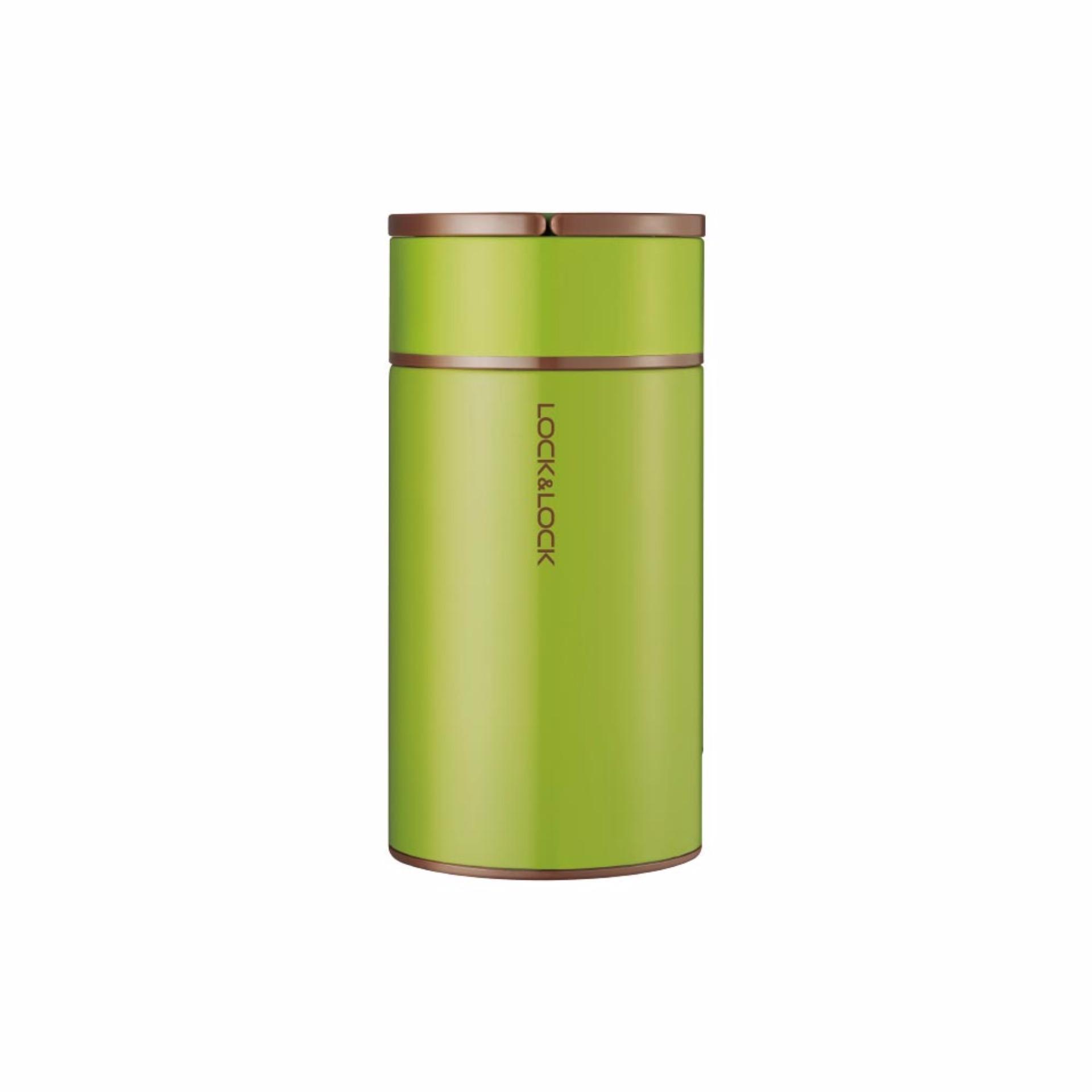 Hộp giữ nhiệt đựng thức ăn Lock&Lock Column Food Jar 750ml – Màu xanh lá
