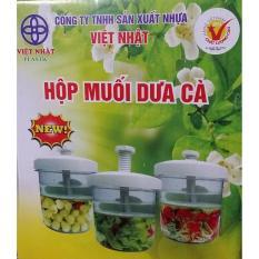 Hộp muối dưa cà Việt Nhật tiện dụng