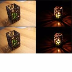 hộp nến trang trí ( 5 hộp )