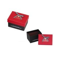 Hộp quà chữ nhật Just For You Đựng son (nắp đỏ, hộp đen) (9.4 x 6.8 x 6.2 (cm))