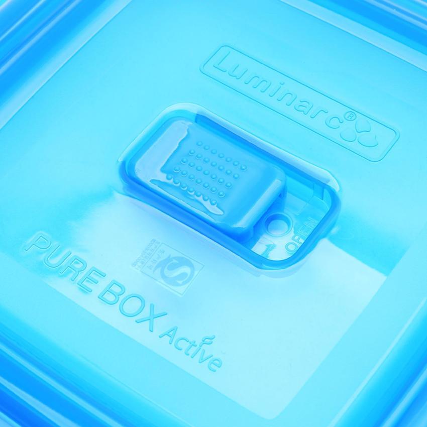 Hình ảnh Hộp thủy tinh Luminarc Pure Box tròn 670ml L1963 (Trong suốt)