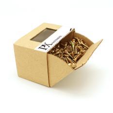 Hộp vít gỗ PX 303100005 đầu PZ 4×16 275 Con (Vàng) / PZ Chipboard Screw box 4×16 275pcs (Yellow)