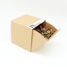 Hộp vít gỗ PX 303100029 đầu TX 4×45 200 Con (Vàng) / TX Chipboard Screw box 4×45 200pcs (Yellow)