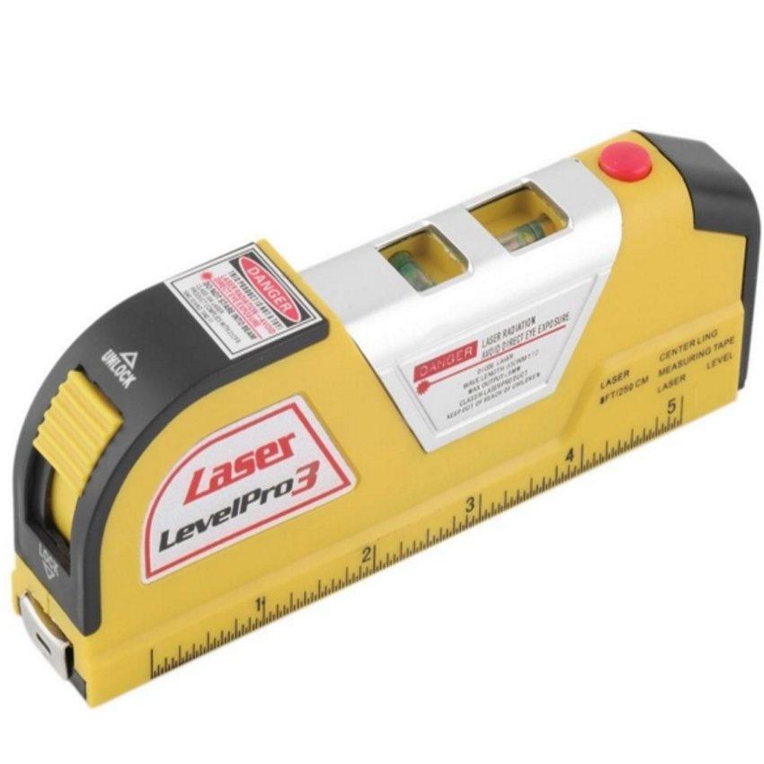 Horizontal Vertical Line Measure Measuring Tape - intl