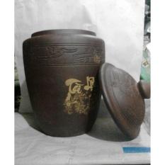Hũ gạo phong thủy Bát Tràng 25 kg