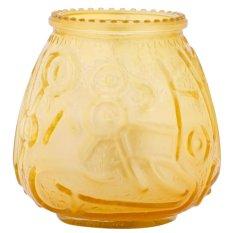 Hũ nến thơm hình búp sen Miss Candle NQM1984 cháy 45 giờ (Vàng)