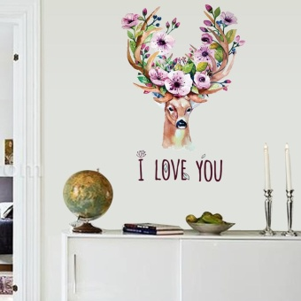 I Love You Removable Art Vinyl Mural Home Room Decor Wall Stickers - intl