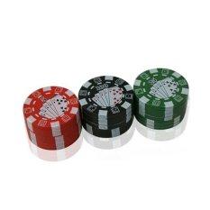 Jetting Buy Herbal Cigar Grinder Poker 3 Layers - intl