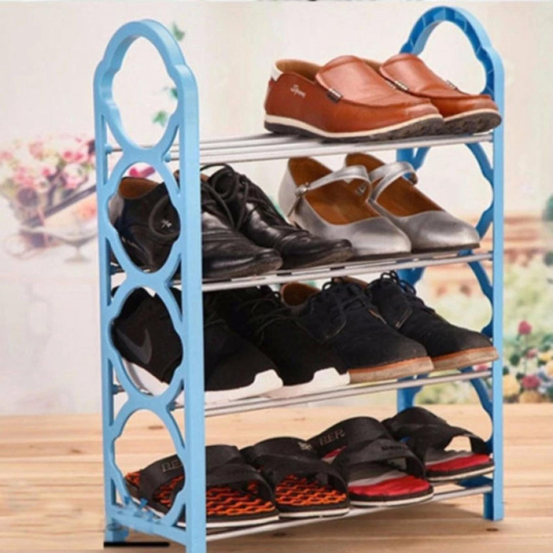 Giảm giá kệ để giày 4 tầng mẫu mới 2018