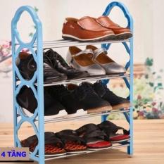 Giá Khuyến Mại Kệ để giày dép 4 tầng tiện dụng siêu bền
