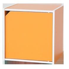 Chỗ bán Kệ Hộc Trang Trí Có Cửa Modulo Home KUBO 1024-O (Cam)