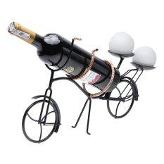 Kệ rượu hình xe đạp chở rượu Eden Living EDL-R013