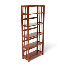 [Freeship] Kệ sách 5 tầng HB540 IBIE gỗ cao su phong cách Bắc Âu Scandinavian theo lối sống tối giản, kích thước, màu sắc tùy chọn. Gia công tỉ mỉ, chất lượng xuất khẩu. Bảo hành 12 tháng, miễn phí vận chuyển TPHCM